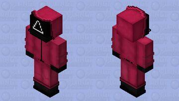 Squid Game Crew Minecraft Skin