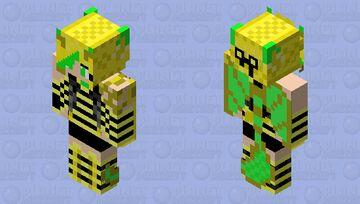 Leann Garmadon Bee Outfit Minecraft Skin