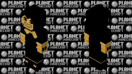 Bendy BATIM, 128x128 Remastered Minecraft Skin