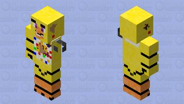 Parts and service chica / Fnaf VR Minecraft Skin