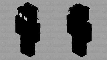 The Thing/Shadow Man Hello Neighbor(Better ;D) Minecraft Skin