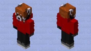 The Red RedPanda Minecraft Skin