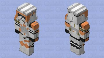 "Commander Cody ""CC-2224"" (Phase II): Star Wars Episode III: Revenge of the Sith Minecraft Skin"