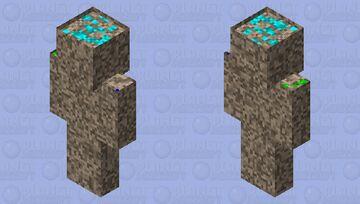 ORE MAN Minecraft Skin
