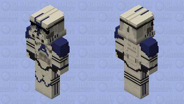 501st Legion Clone Trooper, Hd. Minecraft Skin