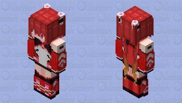 Tail Red Minecraft Skin