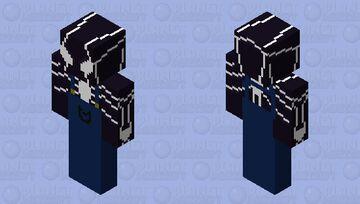 venom 2.0 in overalls Minecraft Skin