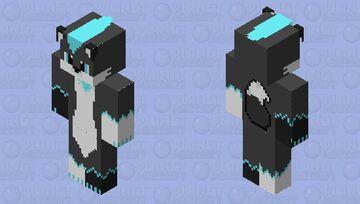 HD Furry with bandana Minecraft Skin