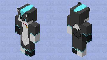 HD Furry with collar Minecraft Skin