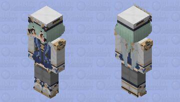 sucrose genshin impact Minecraft Skin