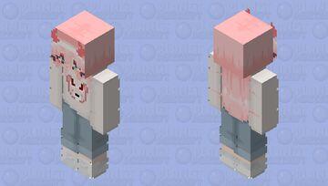 Casual zero two Minecraft Skin