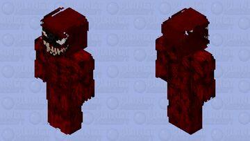 Carnage venom vs carnage Minecraft Skin