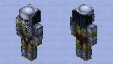 Predator (with mask & armor) Minecraft Skin