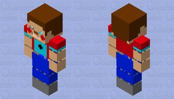 stylized toy steve Minecraft Skin