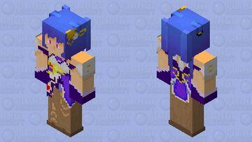 Keqing (genshin impact) Minecraft Skin