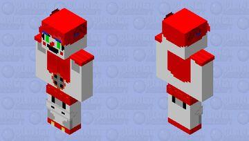 Circus Baby Minecraft Skin