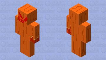 fire monster Minecraft Skin