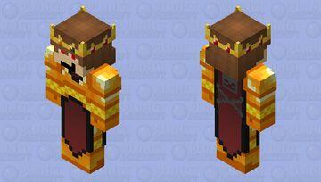 DarthKilliverse (Nether Lord) (128x128 Version) Minecraft Skin