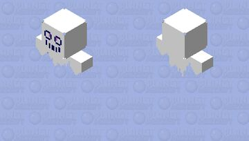 You Will Only Know What This Is If You Like A Game Where Pokemon And Math Combine Minecraft Skin