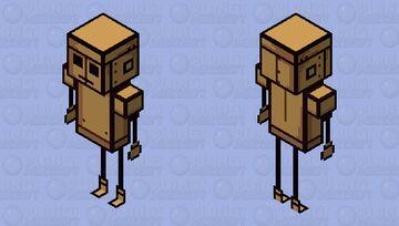 Don't Starve - WX-78 Minecraft Skin