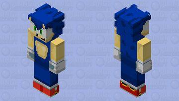 dreamcast sonic Minecraft Skin