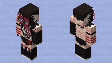"""The Demon King"" Finn Bálor Minecraft Skin"