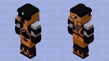 Gordon Freeman with Helmet / HEV WITH HELMET / Half life / Half life 2 Minecraft Skin