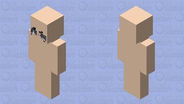 Face go brrrrrrrrrrrrrrrrrrrrr Minecraft Skin