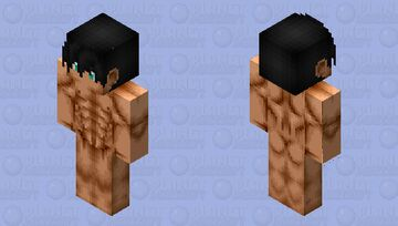Skin base muscles boy 128x128 Minecraft Skin