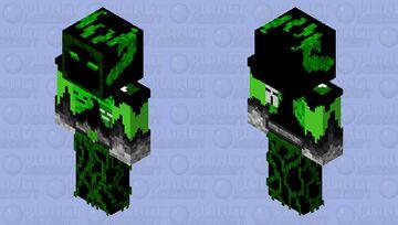 Green Demon Skin HD Minecraft Skin