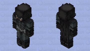 Bruce Wayne|Batman Arkham Knignt|Game Minecraft Skin