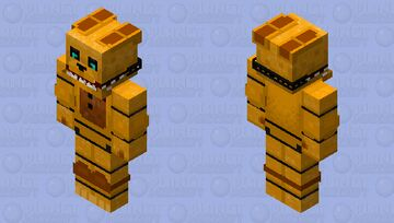 HD Into the Pit Springbonnie Minecraft Skin