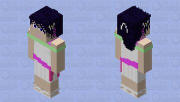 Dawn - white contest dress Minecraft Skin