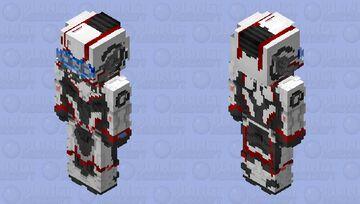 Quantum Armor MCU Minecraft Skin