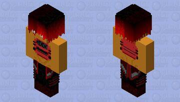 Red Vest Minecraft Skin