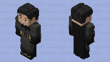 Batman (Mask Off): Batman V Superman: Dawn of Justice Minecraft Skin