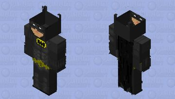 89 Batman (longer ears) Experiment Minecraft Skin