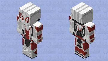 Spider-Man (Armored Advanced Suit) Minecraft Skin