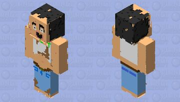 Goozing Hog Belly Custom Minecraft Skin