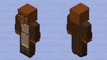 Mace Windu (Jedi Robes): Star Wars Episode I: The Phantom Menace Minecraft Skin