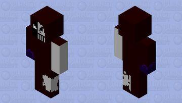 UnDead Necromancer Minecraft Skin