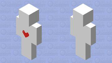100 сердечек Minecraft Skin