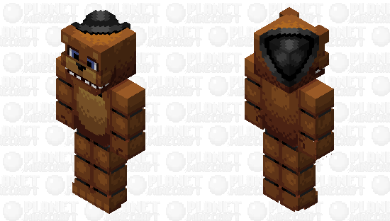 𝙵𝚒𝚟𝚎 𝙽𝚒𝚐𝚑𝚝𝚜 𝚊𝚝 𝙵𝚛𝚎𝚍𝚍𝚢'𝚜 - 𝙵𝚛𝚎𝚍𝚍𝚢 𝙵𝚊𝚣𝚋𝚎𝚊𝚛 Minecraft Skin