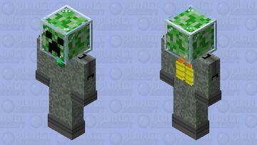 space creeper Minecraft Skin