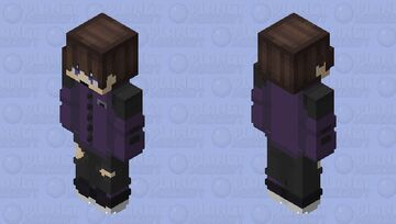 Mike (New) Bedrock Minecraft Skin
