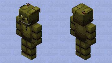 HD In the Flesh Springtrap Minecraft Skin