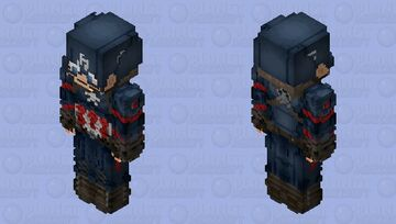 Captain America (AOU) Minecraft Skin