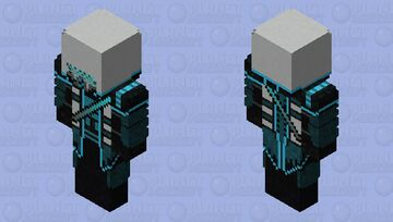 Hooded (Snow) Minecraft Skin