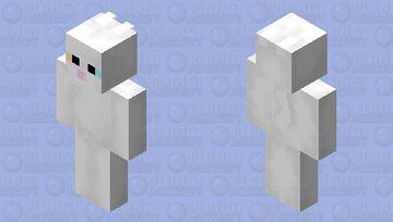 Minecraft White Cat Minecraft Skin