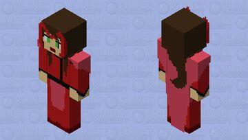 Scarlet Witch | Custom Design Minecraft Skin